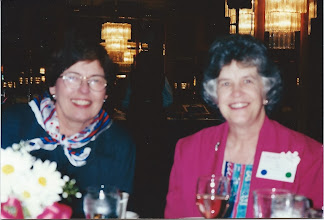 Photo: Dianne McDowell and Dr. Betty Sloop