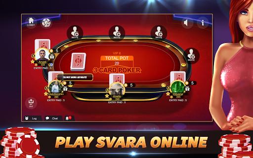 Svara - 3 Card Poker Online Card Game 1.0.11 screenshots 8