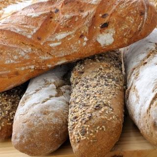 Spelt Sourdough loaf in a bread-maker (easy peasy!).