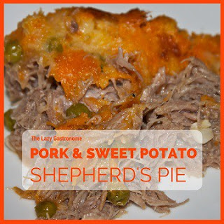 Pork & Sweet Potato Shepherd's Pie
