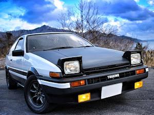 スプリンタートレノ AE86 昭和59年  GT-APEXのカスタム事例画像 keroyosoさんの2019年01月14日18:57の投稿