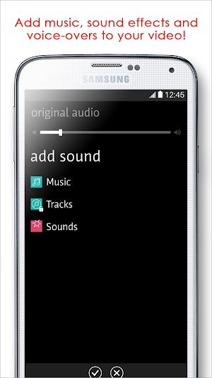 0 Videoshop - Video Editor App screenshot