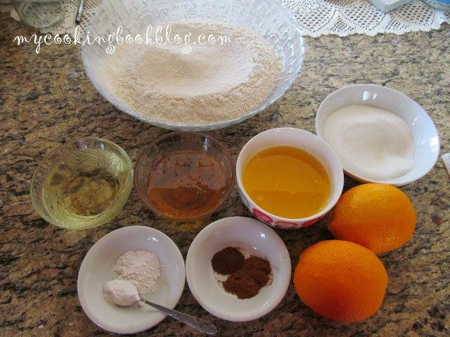 Великденски курабии с портокалов сок и канела