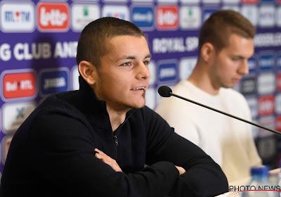 Dejan Joveljic titularisé pour la première fois avec Anderlecht à Malines