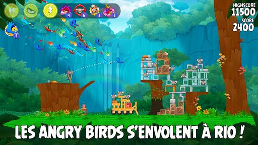 Angry Birds Rio  captures d'écran 1