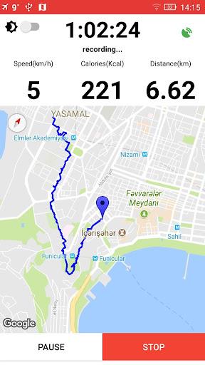 Walking for Weight Loss & Pedometer - Step Counter screenshot 1