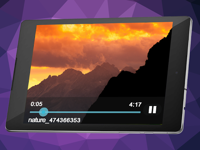 android Video and Music Player Screenshot 2