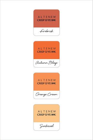 Altenew Dye Inks 4 Mini Cube Set - Warm & Cozy