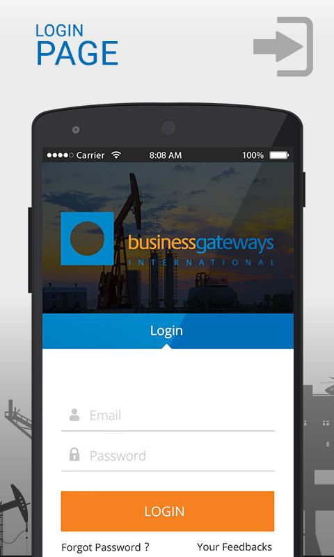 BGI Mobile Application- screenshot