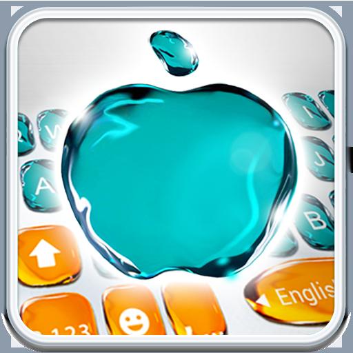 Turquoise OS11 PhoneX Keyboard Theme Icon