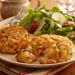 Easy Creole Shrimp Cakes.