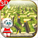 Maze Cartoon labyrinth 3D HD icon
