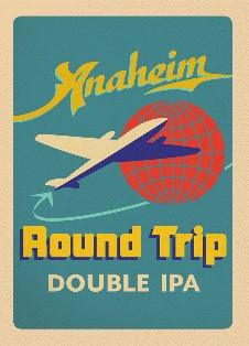 Logo of Anaheim Round Trip Double IPA