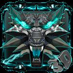 3d Neon Iron Wolf Theme 2.0.4