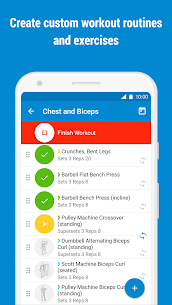 GymRun Workout Log & Fitness Tracker Mod 9.3.0 Apk [Unlocked] 2