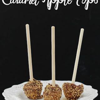 Mini Caramel Apple Pops