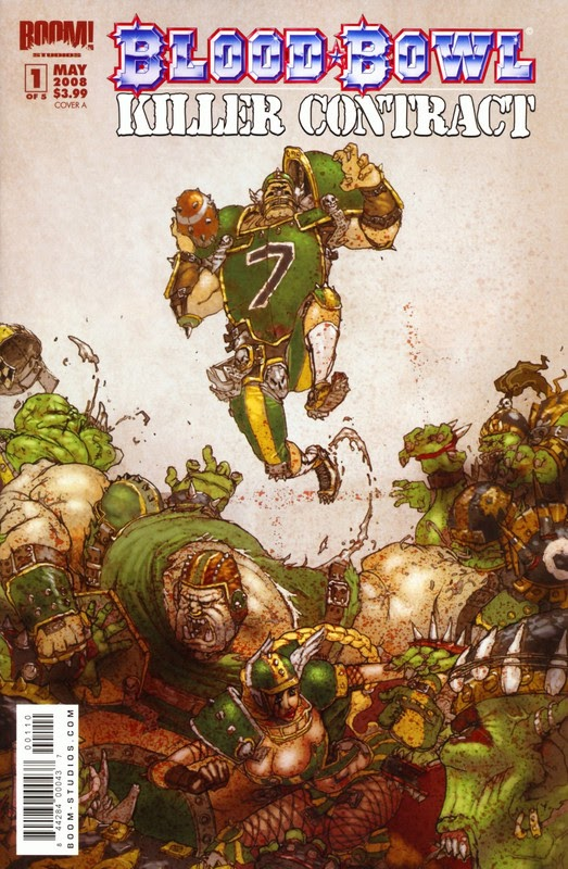 Blood Bowl: Killer Contract (2008) - complete