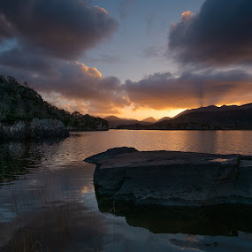 Lakes of Killarney by F Kelly - Landscapes Waterscapes ( old kenmare road, lakes, kerry, killarney, ireland )