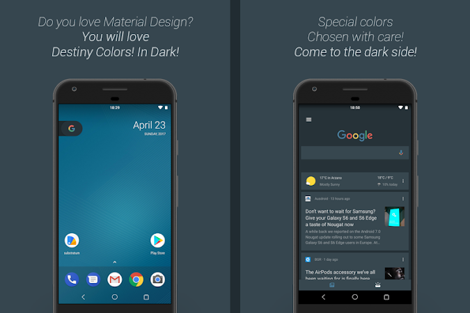 [Substratum] DestinyDark Theme v21 [Patched]