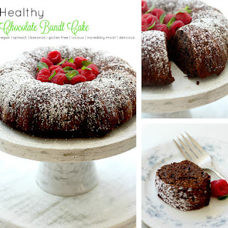 Healthy Chocolate Bundt Cake