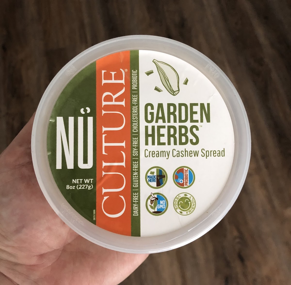 Garden Herbs Creamy Cashew Spread