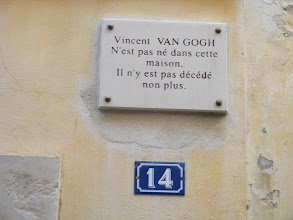 "Photo: The wry French sense of humor reveals itself here, referencing both one of the town's most famous residents, and the penchant for historical plaques on many buildings: ""Victor Hugo was not born in this house. He didn't die here either."""