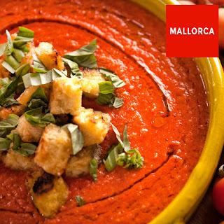 Tomato And Watermelon Gazpacho.