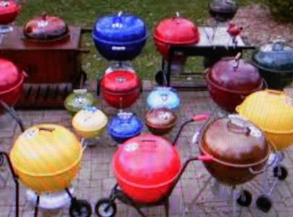 A Bbq & Grilling   Collection Of Cookbooks! Recipe