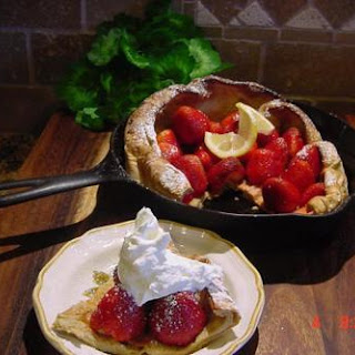 DUTCH BABY WITH FRESH FRUIT (BONNIE'S)