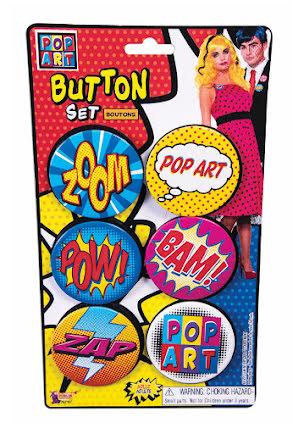 Pop Art, pins