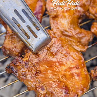 Grilled Huli Huli Pork Chops.