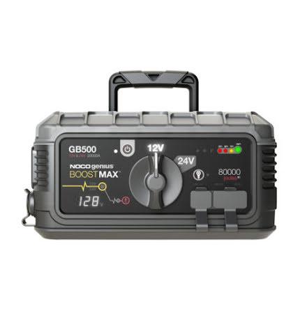 Noco GB500 Genius Startbooster HD Lithium Power Booster. Hela 20000A Lithium-ion starthjälp 12V samt 24V