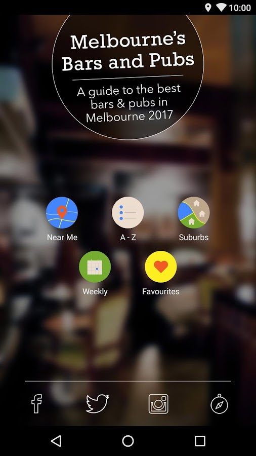 Melbourne's Bars and Pubs 2017- screenshot