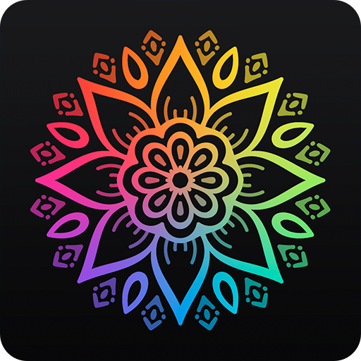 Coloring book 2018 - Mandalas and Humans (app)