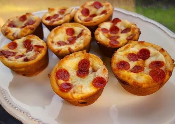 Mini-pepperoni Pizza Puffs Recipe
