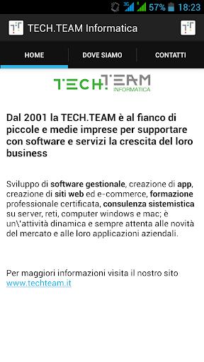 TECH.TEAM Informatica