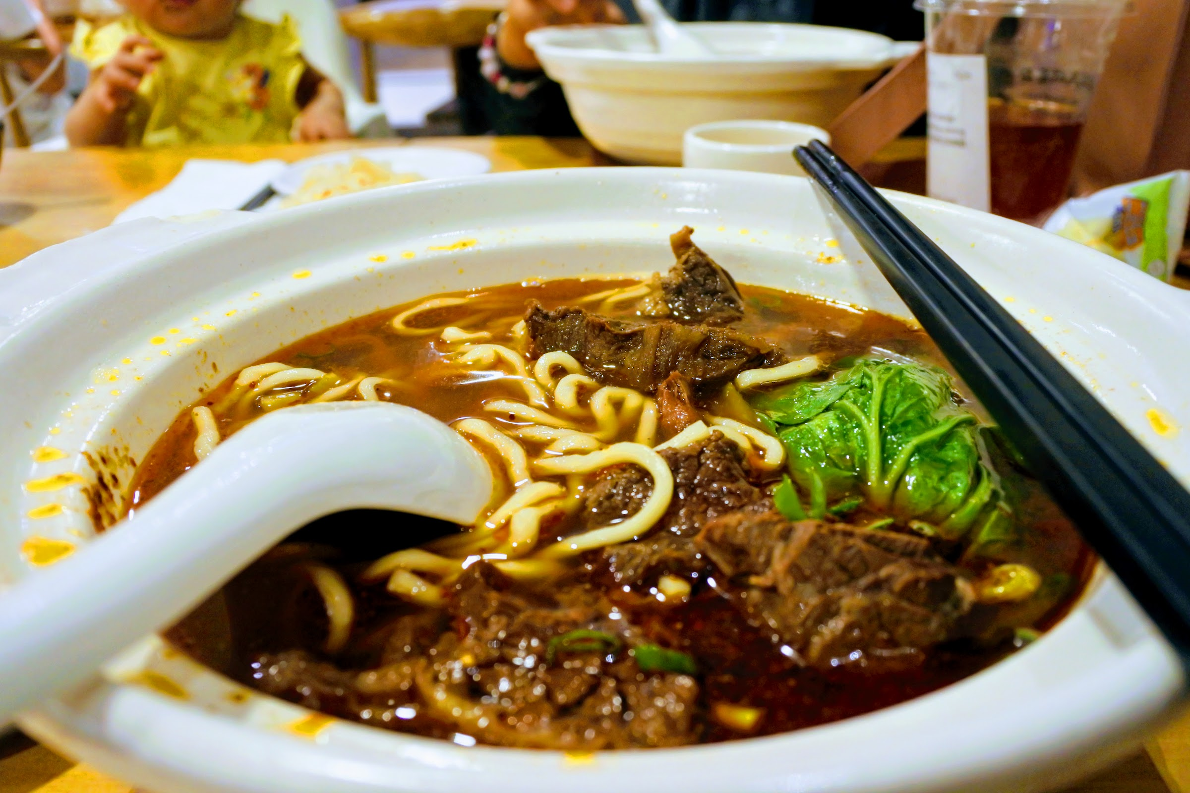 Eat Taiwan beef noodle during 3 nights in Taiwan
