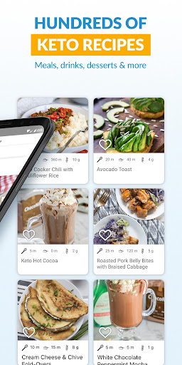 Total Keto Diet: Low Carb Recipes & Keto Meal Plan 4.0 screenshots 2