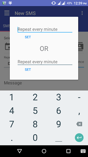 Auto SMS Sender Pro screenshot