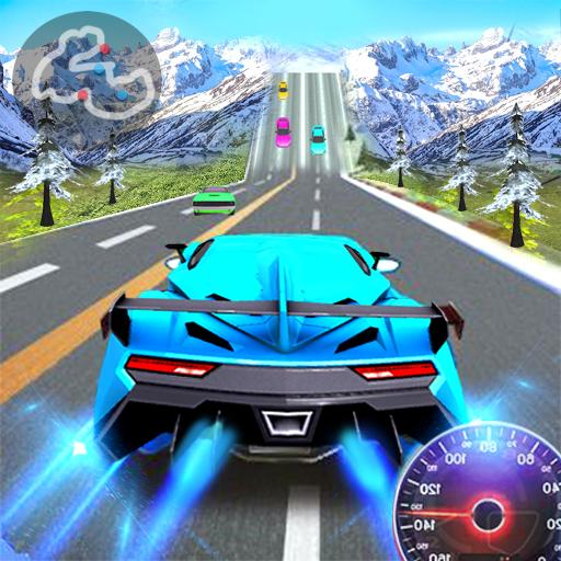 Racing Car City Speed Traffic