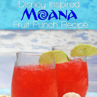 Disney Moana Fruit Punch.