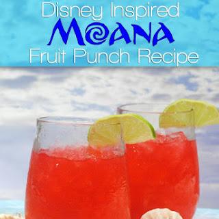 Disney Moana Fruit Punch.