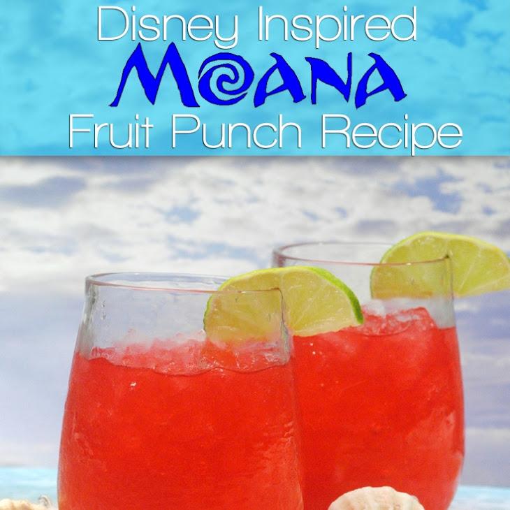 Disney Moana Fruit Punch Recipe