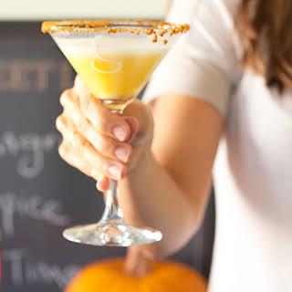 Skinny Pumpkin Pie Martini.
