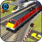 Train Driving Simulator 2017- Euro Speed Racing 3D Icon