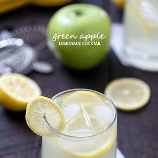 Green Apple Lemonade Cocktail