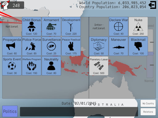 World Peace Simulator 2015 1.29 screenshots 12