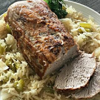 Pork Roast & Sauerkraut.