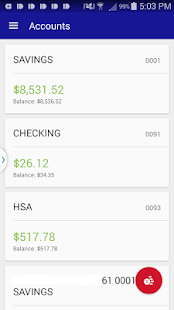 HFCU Mobile Banking- screenshot thumbnail