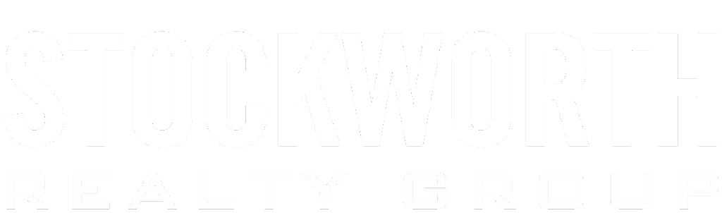 Stockworth White Logo